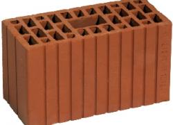 Двойной пустотелый рядовой кирпич (камень керамический 2,1 НФ) (250х120х140мм)
