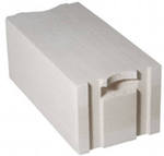 Блок стеновой паз-гребень (625х250х300 (375, 400) мм)