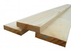 Доска обрезная (строганная) (100(150)х25мм, 100(150)х40(50) мм)