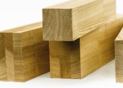 Клееный брус (конструкционный) (балки перекрытий, стропила, стойки)